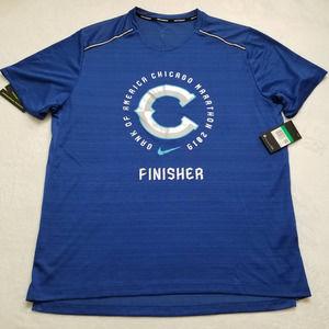 Nike Running Chicago Marathon Finisher Shirt